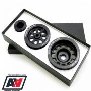 RCM Subaru Lightweight Ancillary Pulley Kit with Air Con V8+ RCM316